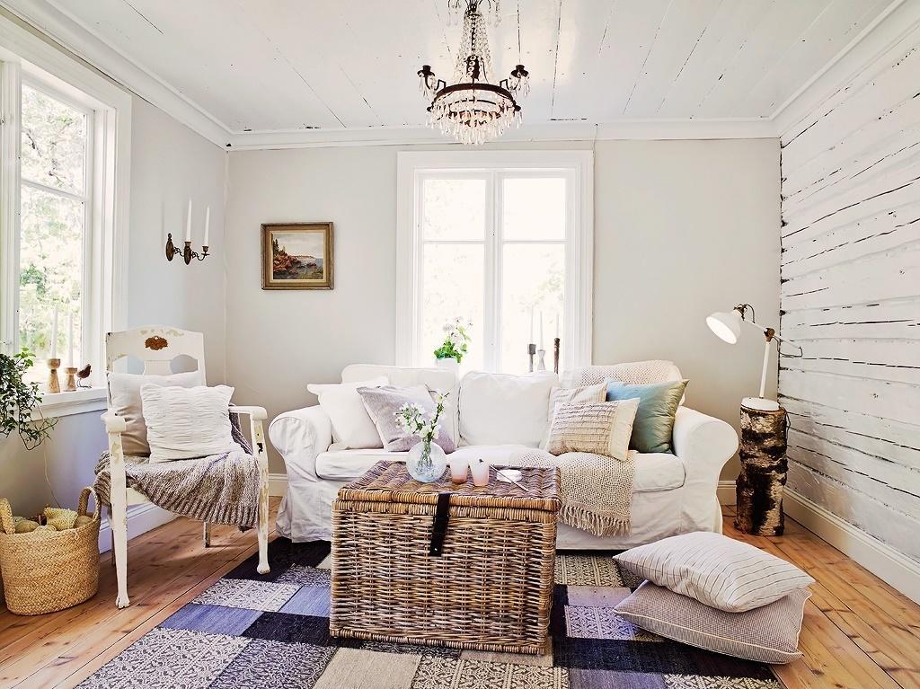 Interijer male kuće u skandinavskom stilu