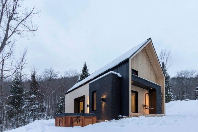 Mala seoska kuća skandinavskog stila