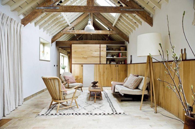 Interijer male seoske kuće u skandinavskom stilu