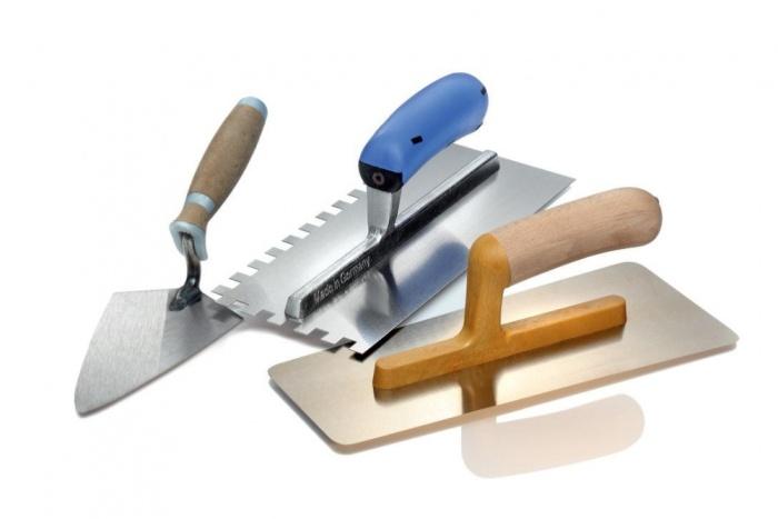 За полагане на плочки трябва да имате редица инструменти.