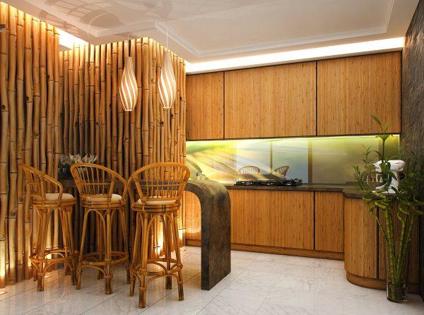 Le bambou est une plante élégante. Il mettra en valeur tout intérieur