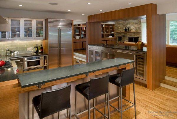 Rack Island dans la cuisine