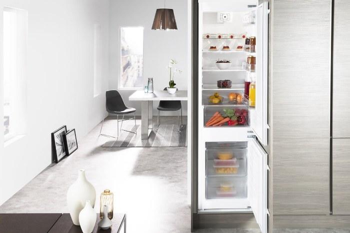 Conception de cuisine et de réfrigérateur.