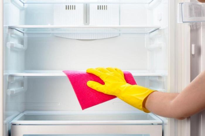 Sušenje hladnjaka.