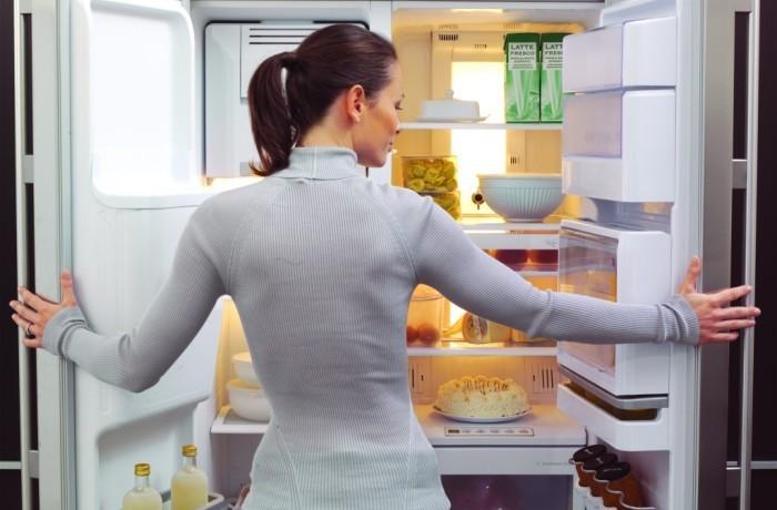 Hladnjak se uključuje i isključuje.