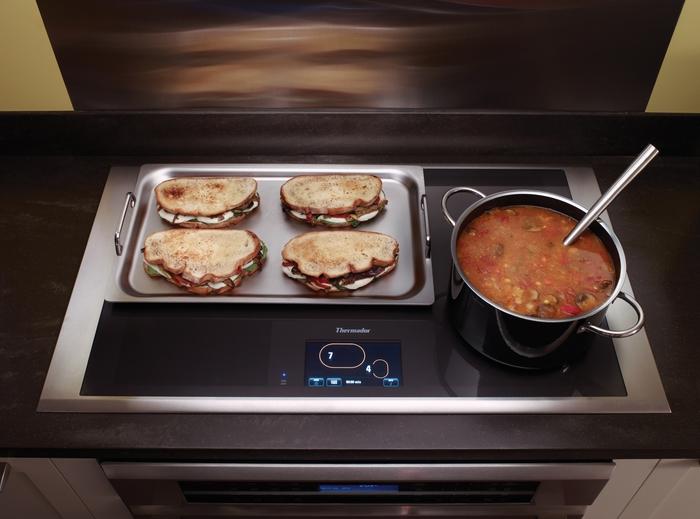 Cuisinière à induction.