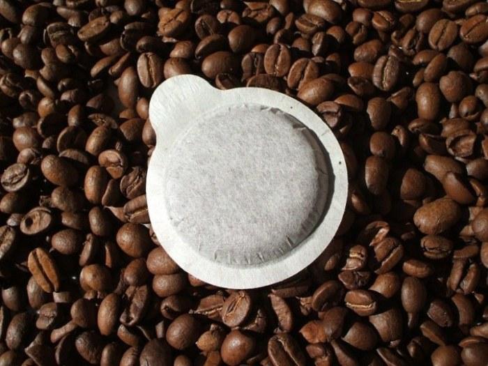 Pads pour machines à café.