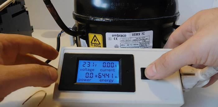 Réparation du réfrigérateur inverseur.