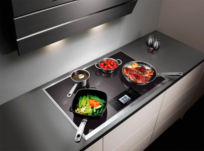 soin de la cuisinière à induction.