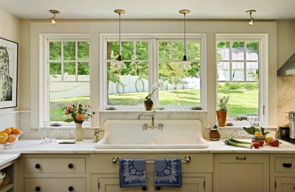 Il est préférable de choisir des plantes photophiles dans la cuisine avec de grandes fenêtres