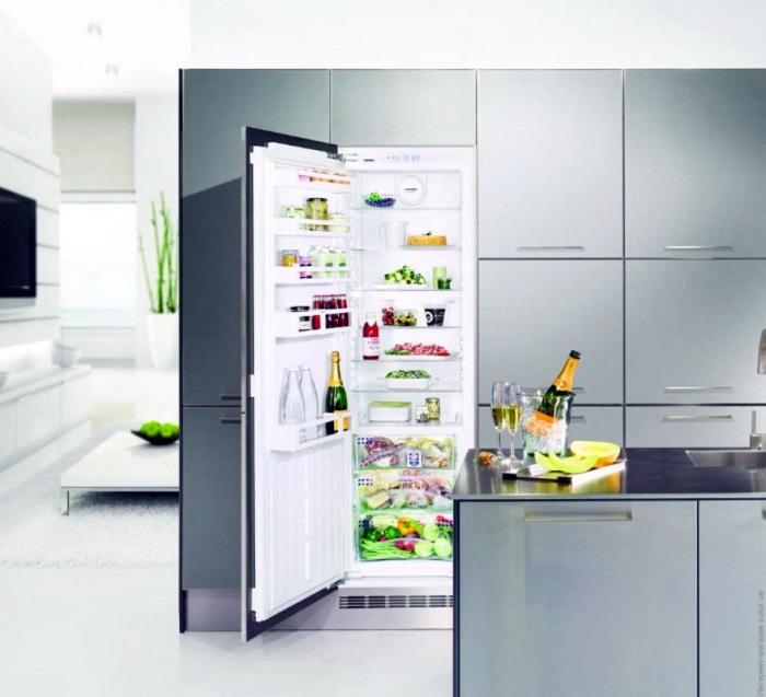 Modèle de réfrigérateur intégré.