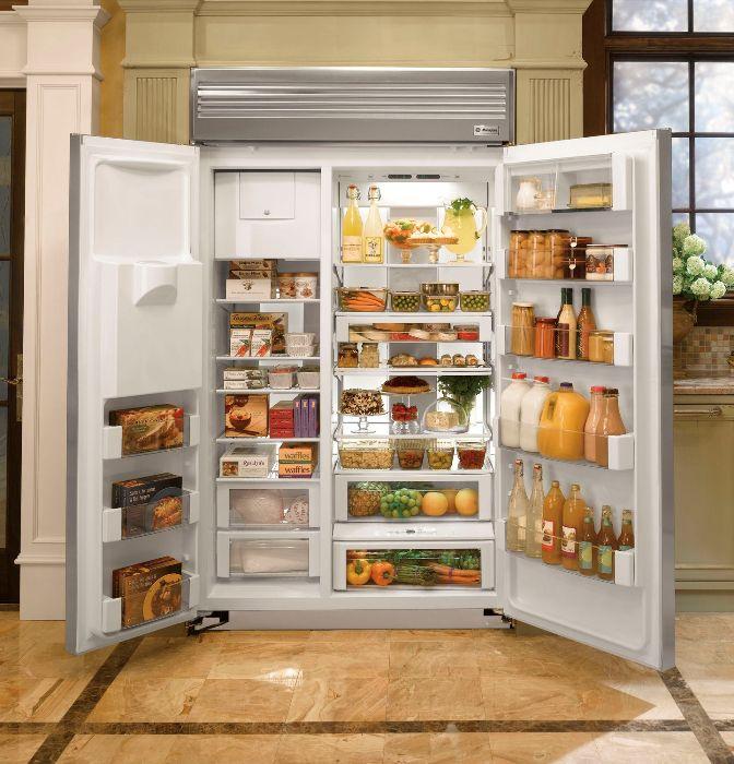 Avantages et inconvénients des réfrigérateurs intégrés.