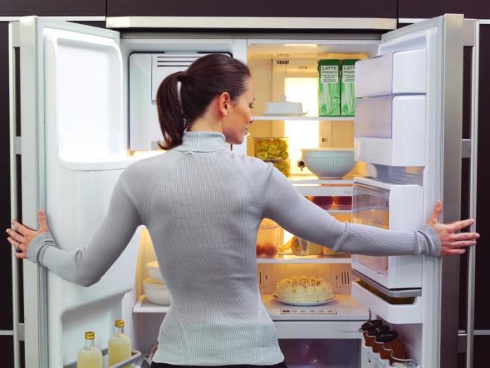 Sentez le frigo.