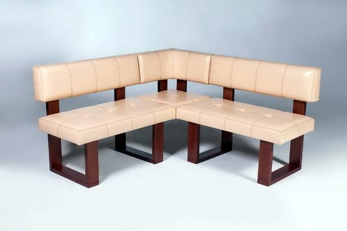 Sarok kanapé tervezési terve.