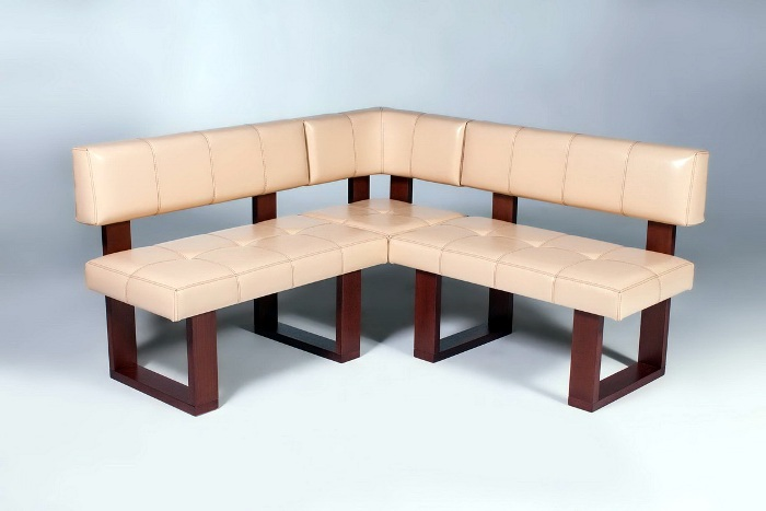 Design project of a corner sofa.