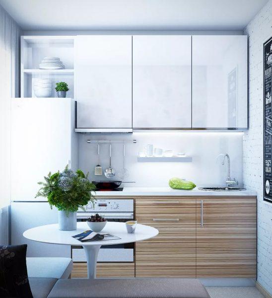 Virtuves dizains Hruščovā 2019. gadā