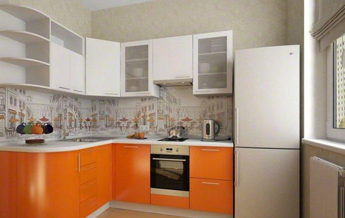 Conception de cuisine de petite taille.