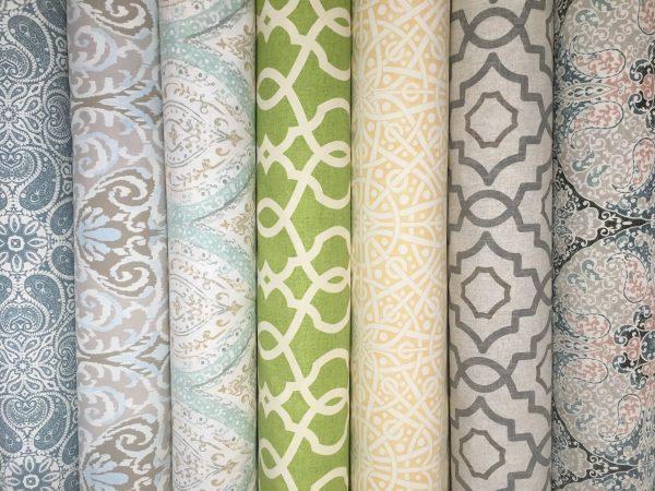 Tissus naturels pour rideaux