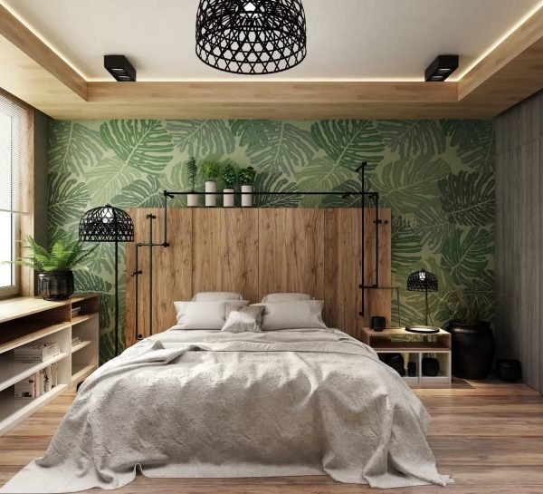 Da biste uravnotežili percepciju boja u sobi sa svijetlim zidom, ostatak zidova i poda trebao bi biti krajnje neutralan.