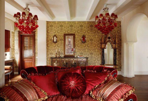 Arabic style wallpaper