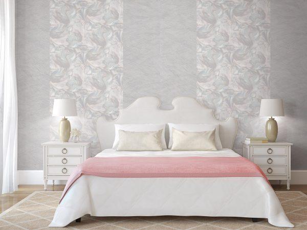 Pravilno odabrana pozadina ukrasit će vašu spavaću sobu