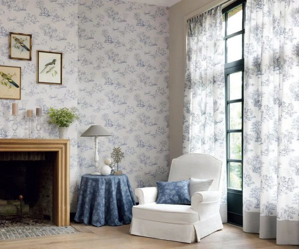 Vinyl wallpaper is the most sought after and well-established look.