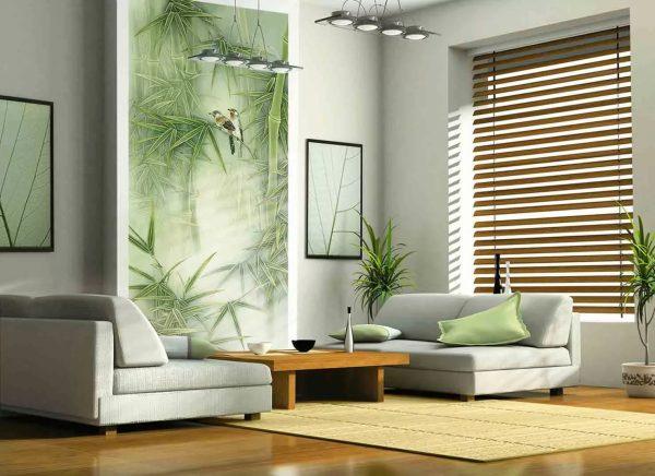 Öko háttérkép nappali környezetbarát stílusban