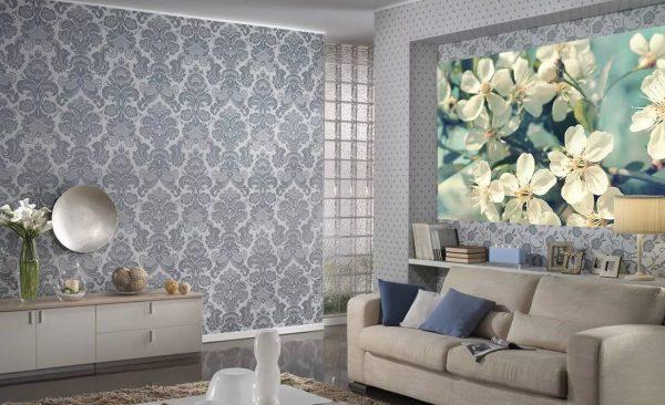 Kombinált háttérkép a nappalihoz 2019