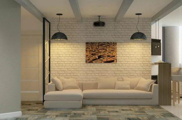 A loft stílusú tapéta népszerű újdonságai közül említést érdemel a fa, kő, eredeti bőr, tégla, hámozott vakolat utánzatú falburkolatok.