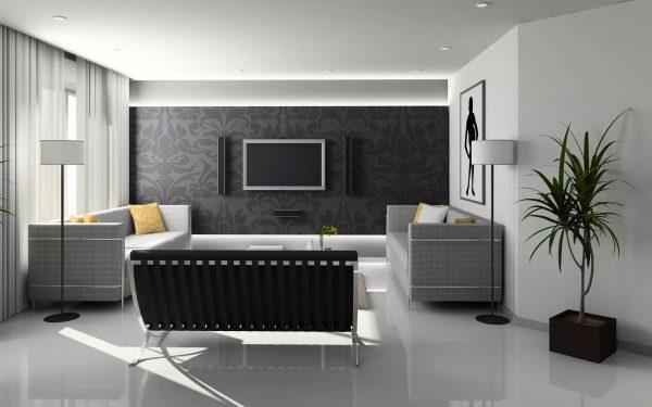 Teisingai pasirinkę salės ekrano foną, galite sukurti gerą įspūdį ir suformuoti bendrą kambario įvaizdį.