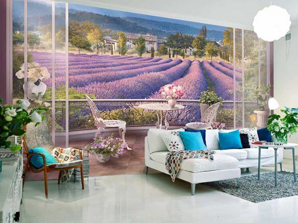 Įklijuokite įspūdingus tapetus gyvenamajame kambaryje ir nustebinkite savo svečius