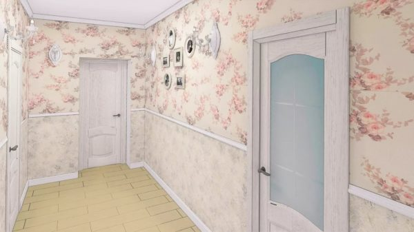 Gaišās nokrāsas, tekstilizstrādājumu un ziedu rotājumu pārpilnība dekorējot sienas - tas raksturo Provansas stilu