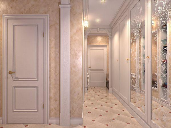 Lētākais un praktiskākais sienu apdares variants ir tapetes.