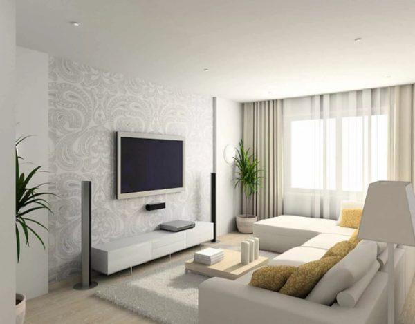 A világos színek vizuálisan megnövelik a helyiséget.