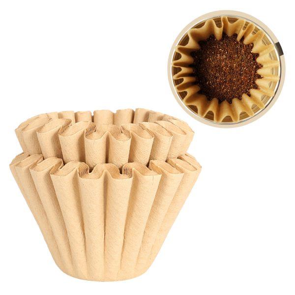 Šādu filtru ražošanai izmanto bambusu, šķiedru. Bambusa filtru kvalitāte ievērojami pārsniedz papīru.