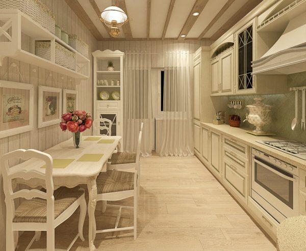 La couleur beige rend immédiatement l'espace chaleureux et confortable. Cela va bien avec presque toutes les couleurs.