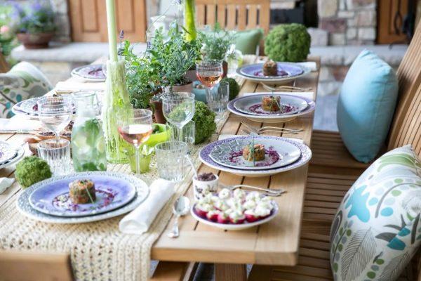 Les motifs de la Provence se retrouvent dans la conception des appareils de cuisine.