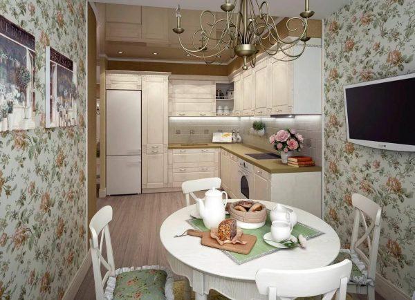 Dans un appartement en ville, des murs soignés et égaux seront plus appropriés.
