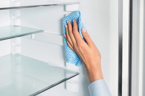 When finished with the product, wipe the surface again with a soft cloth dipped in clean, warm water.